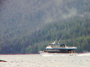 Another view of the catamaran